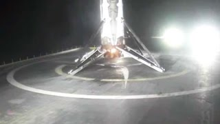 Touchdown! SpaceX Lands Rocket On Drone Ship Again | Video