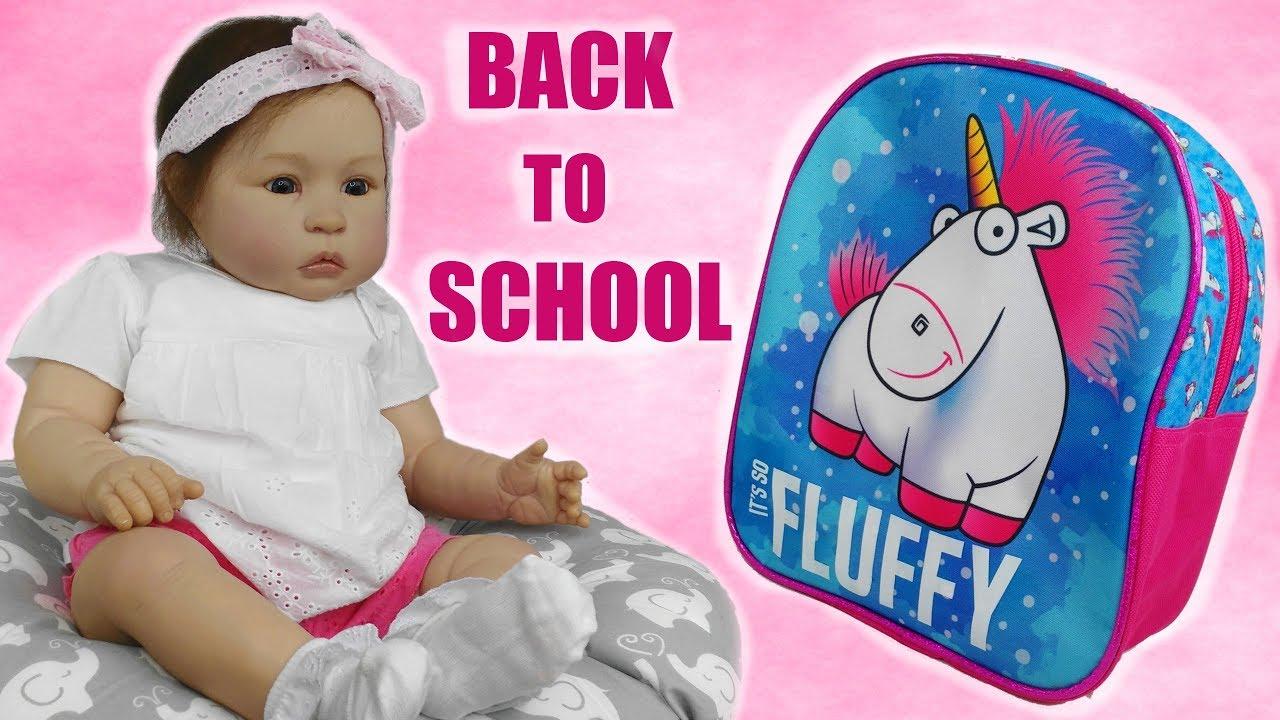 Back to School - Bambola Reborn Toddler Matilde - YouTube