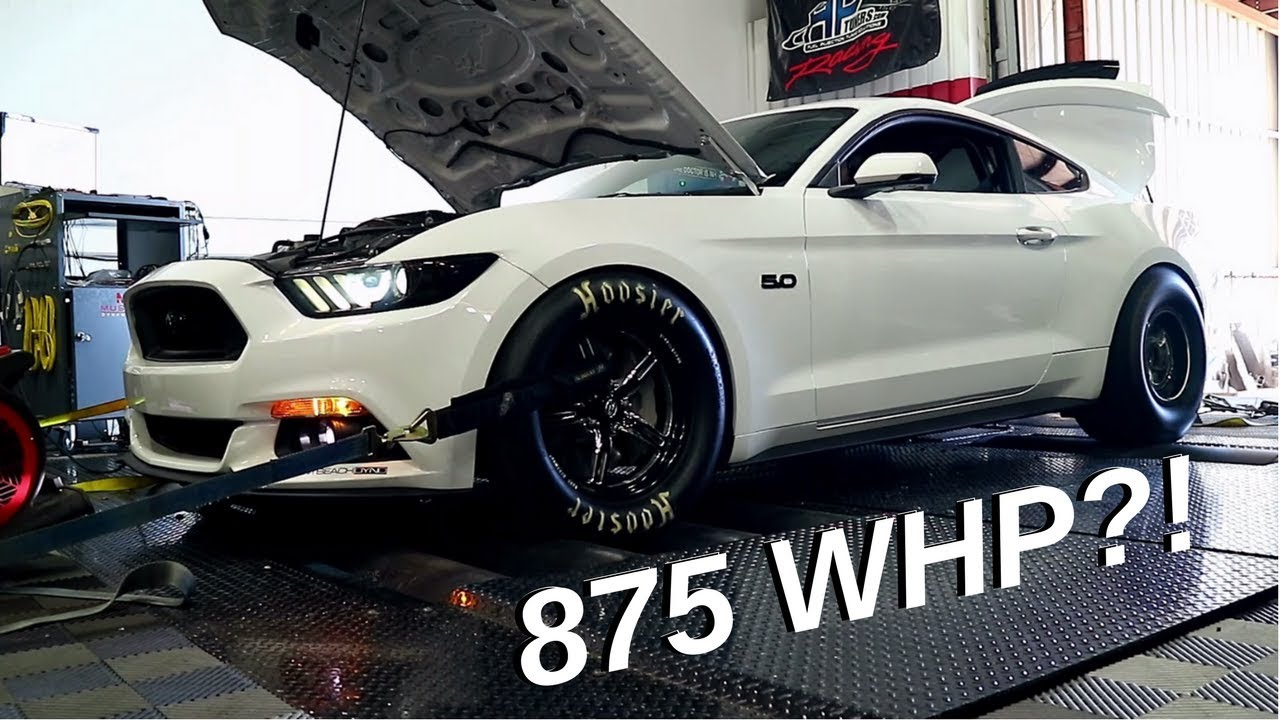 Mustang Gt Wheels >> Whipple 2015 Mustang GT Dyno... 875 WHP S550?!?! - YouTube