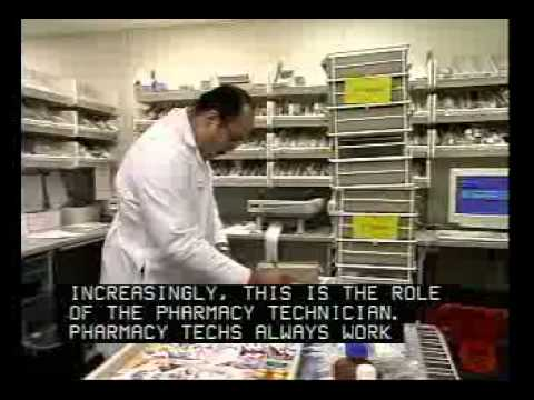 Pharmacy Technician Job Description - YouTube