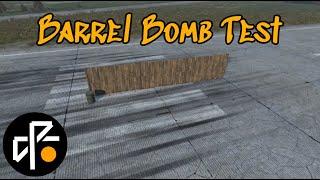 Testing Barrel Bombs