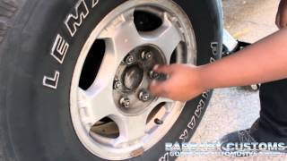 How To Change A Flat Tire On A Car/Truck