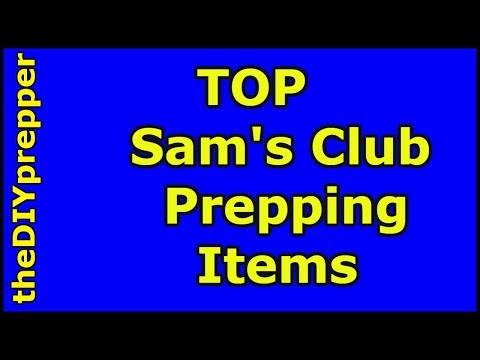 Sam's Club Prepper Items