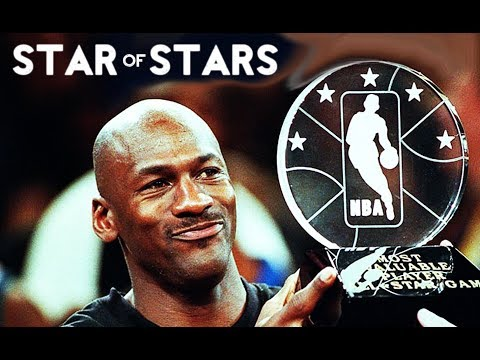 MICHAEL JORDAN STAR OF STARS