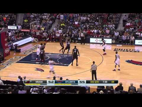 Miami Heat vs Atlanta Hawks | April 12, 2014 | NBA 2013-14 Season