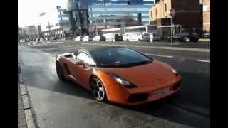 Lamborghini gallardo huge acceleration