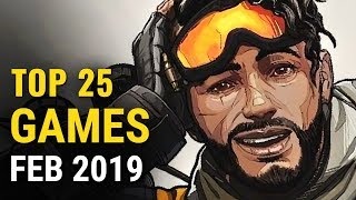 Top 25 NEW Games Released in February 2019