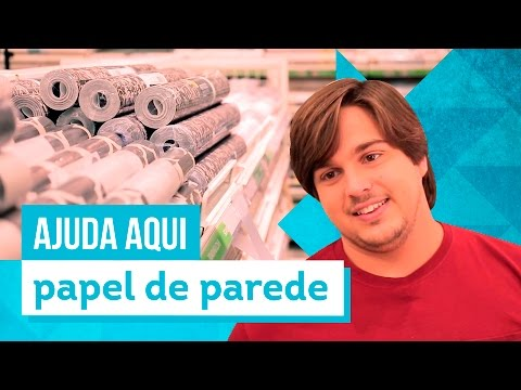 Como escolher papel de parede - Aprenda com Lucas Salles - CASA DE VERDADE
