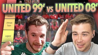 RANKING MANCHESTER UNITED GREATS WITH STATMAN DAVE | PYRAMID TIER LIST