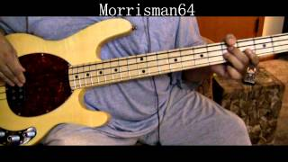 "BARRY WHITE ""NEVER GONNA GIVE YOU UP"" Bass Play along"