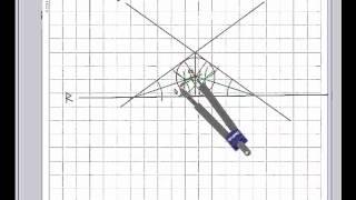 Circunferencias tangentes a 3 rectas