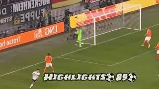 Germania Olanda 2-2 Highlights