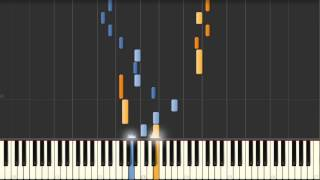 Goldberg Variation No. 28 (J.S. Bach) BWV 988 - Synthesia Piano Tutorial