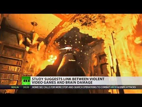 Link between violent video games & brain damage - study