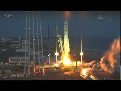 Antares rocket explodes at the Wallops Island launch site in Virginia