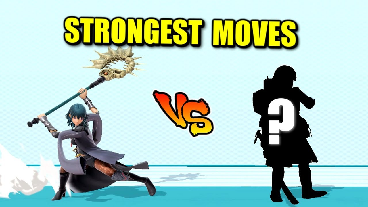Who is the Strongest Character for EVERY Move in Super Smash Bros. Ultimate? thumbnail