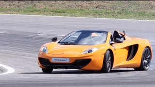 Download Video McLaren MP4-12C Spider First Drive - /CHRIS HARRIS ON CARS MP3 3GP MP4