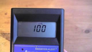 Inspector Pancake G-M Radiation Detector Demo