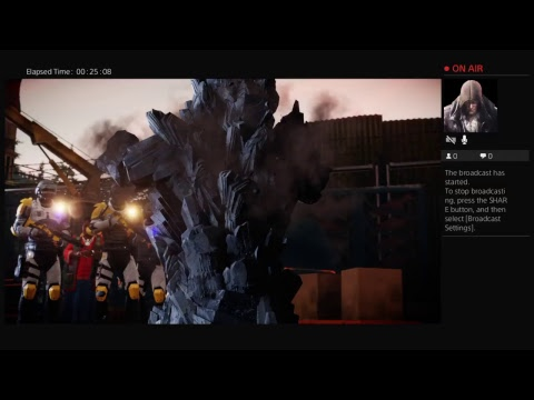 GenX Livestream of inFAMOUS Second son