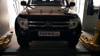Удаление катализатора и ремонт глушителя на Mitsubishi Pajero в Тольятти