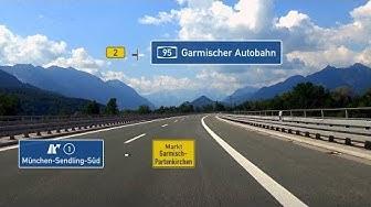 🇩 B2 + A95: AS München-Sendling-Süd - Garmisch-Partenkirchen (3,5x)