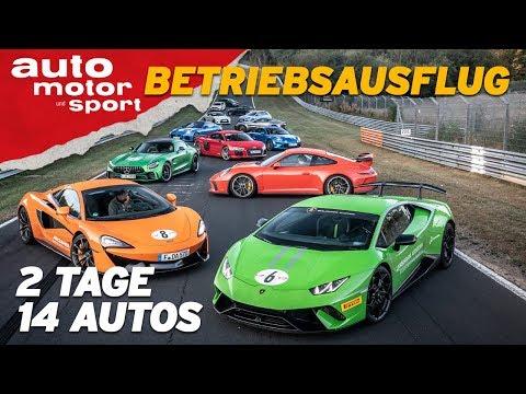 Wir fahren Nordschleife mit 14 Sportwagen: R8, Huracán, Civic Type R, i30 N, 911 GT3, M2 ACS, 570S