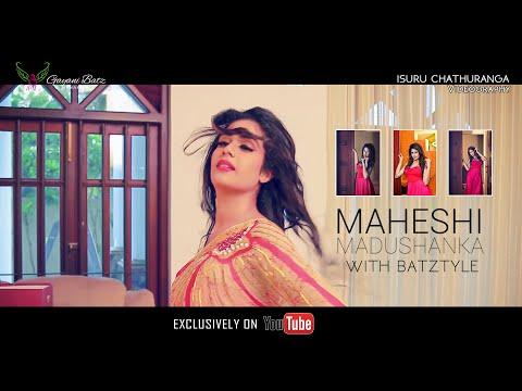 Maheshi Madushanaka Photo Shoot BTS
