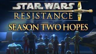 Star Wars Resistance Season Two Hopes