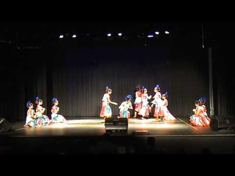 Unaroo Bharathame - Folk Dance - Team Atlanta
