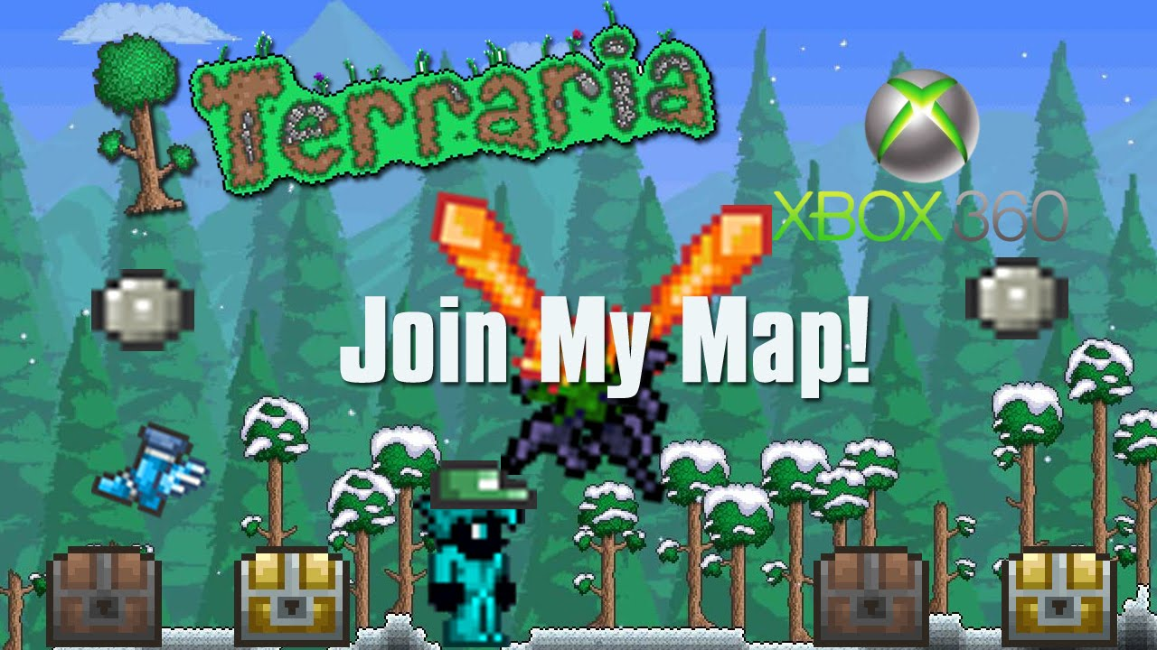 terraria how to join my xbox 360 all items server closed
