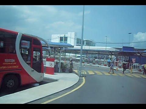 Terminal Amanjaya Bus Stand Ipoh Perak to Butterworth Penang, Malaysia