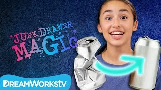 Fill a Soda Can With Your Mind | JUNK DRAWER MAGIC thumbnail