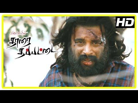 Tharai Thappattai Climax Scene   Varalaxmi passes away   Sasikumar seeks revenge   Bala   Ilayaraja