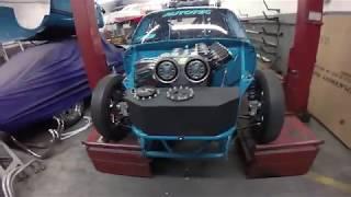 Visita a German Race Cars- Opala 6 cil 24V e Belair Nomad Nitro