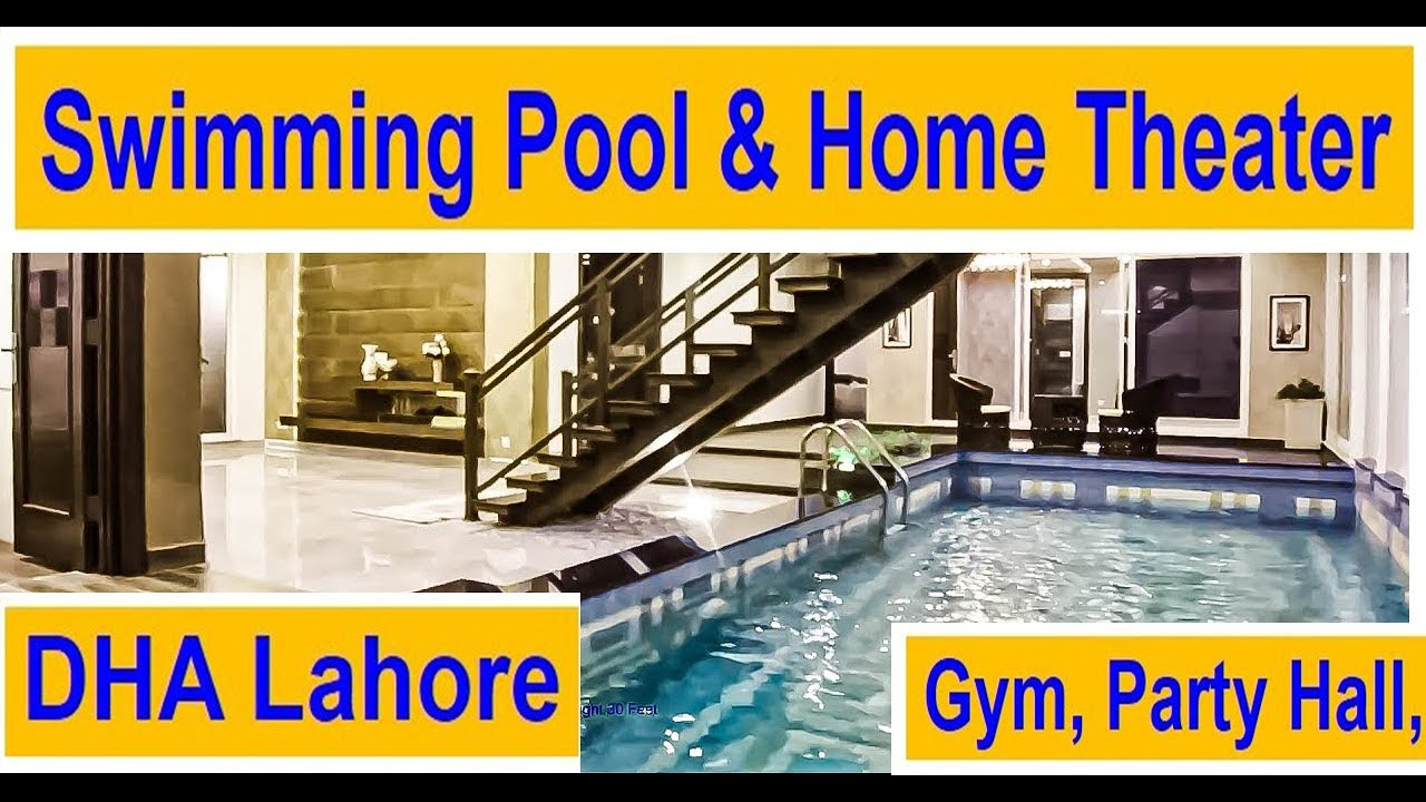 1 Kanal Full Basement House Swimming Pool Home Theater Gym Phase 5 Dha Lhr Vlog 53 9 50 Crore Youtube