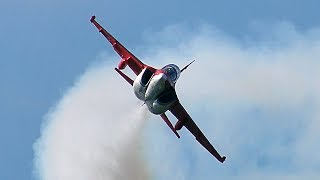 Пилотаж Як 152 и Як 130 на форуме quot;Армия 2018quot; в  Кубинке