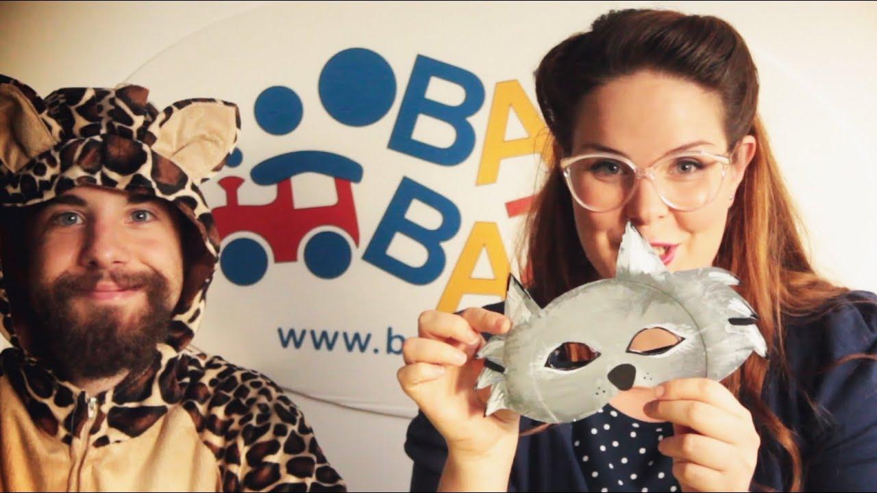Riciclo Creativo Maschera Di Carnevale Per I Bimbi