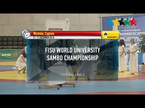 Day 1 - 1st Sambo World University Championship, Nicosia, Cy