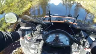 поездка на рыбалку на квадроцикле CF moto X6(поездка на рыбалку на квадроцикле CF moto X6. Июнь 16 года, поехал посмотреть где цветёт морошка и открыть сезон..., 2016-09-29T18:56:37.000Z)