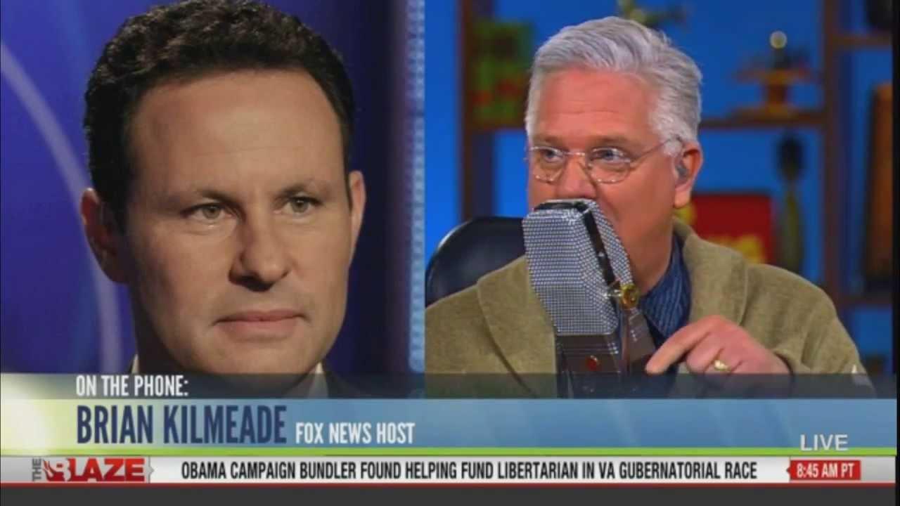 Glenn Beck w/ Fox News' Brian Kilmeade and his book
