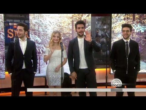Jackie Evancho 'Little Drummer Boy' Feat. Il Volo on the Today Show