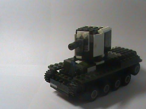 how to make a lego kv 1