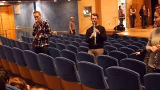 Instrumenten som spelar huvudrollen i Peter och Vargen