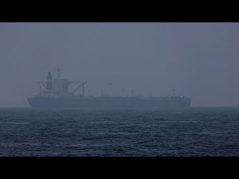 "Crude Oil Tanker ""AQUARIUS WING"" Misty Strait"