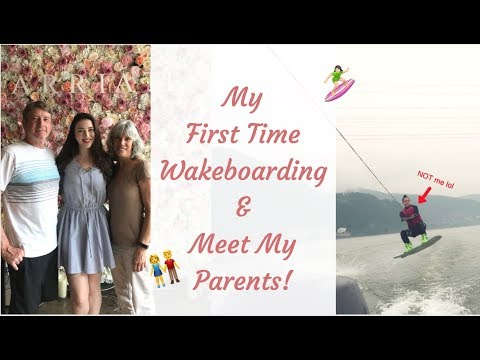 FIRST TIME WAKEBOARDING & MEET THE PARENTS || Seoul Vlog 05/08-06/10