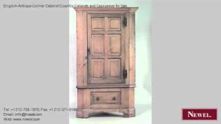 English Antique Corner Cabinet Country Cabinets And Case