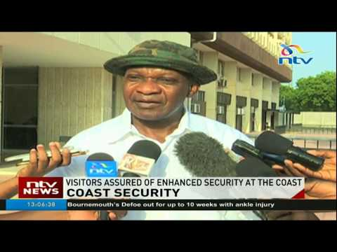 Visitors assured of enhanced security at the Coast