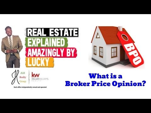What Is A B.P.O.? || Real Estate Explained #60