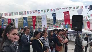 Afghan students attan in Turkey/مست اتڼ/ اتن مست افغانی