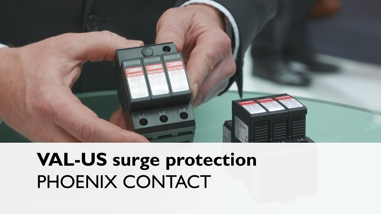 val-us surge protection | ul listed, open type 1 spds  phoenix contact usa